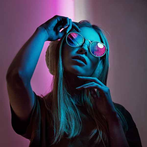 women s white framed sunglasses